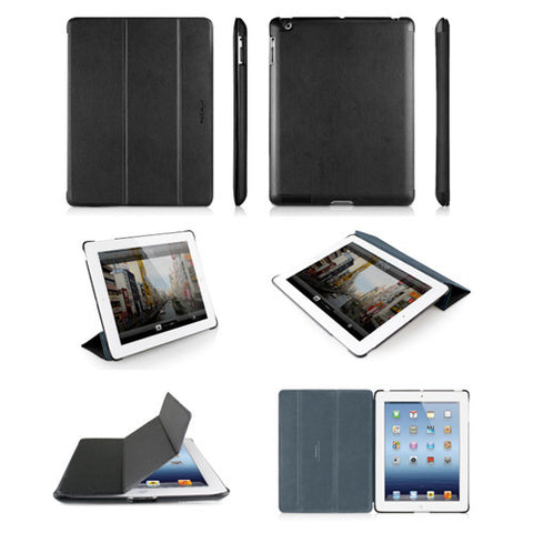 BOOKSTAND3 Protective Cases Stand for iPad 3- Black/Gray