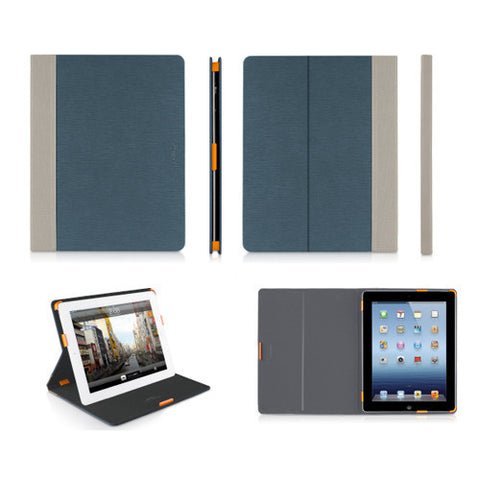 SLIMCases Slim Folio Cases for iPad 3 - Blue