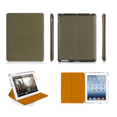 MAGCOVER3 Magnetic Snap-On Cases for iPad 3 - Green