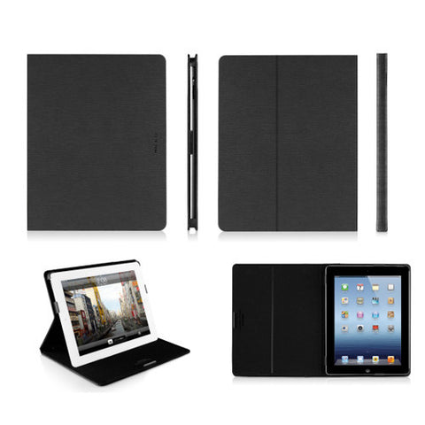 SLIMCases Slim Folio Cases for iPad 3 - Black