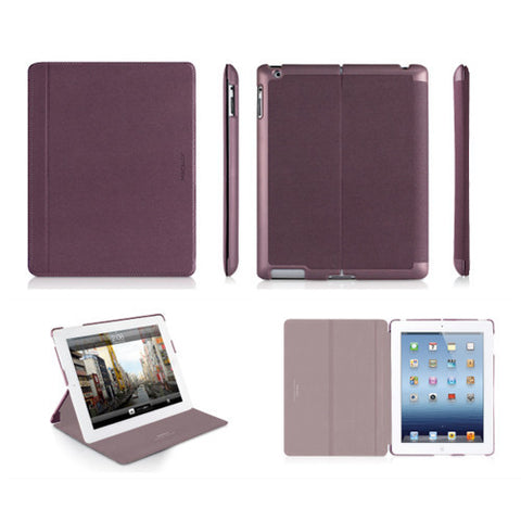MAGCOVER3 Magnetic Snap-On Cases for iPad 3 - Purple