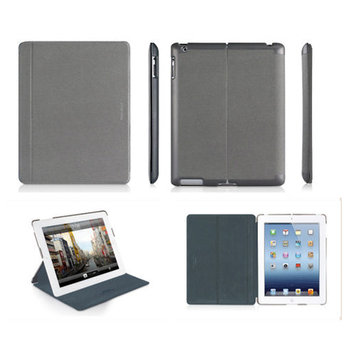 MAGCOVER3 Magnetic Snap-On Cases for iPad 3 - Gray
