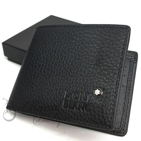 Mb Classic Mens Leather Wallet | Black Wallet