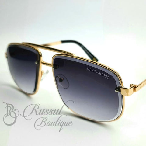 Mj Tinted Bold Sunglasses