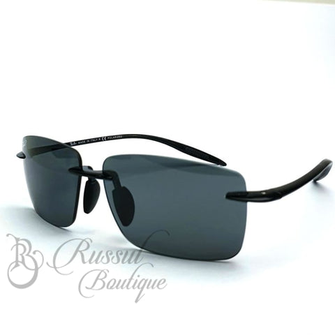 Rb Rimless Sunglasses | Black Sunglasses