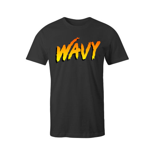 BEACHY TEE BLK YOUTH