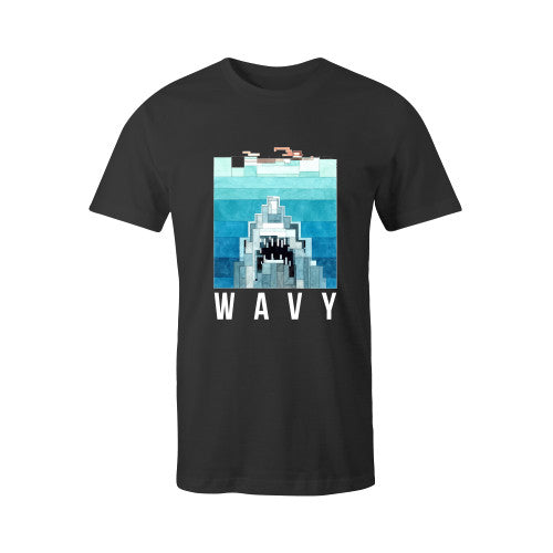 JAWS TEE BLK YOUTH