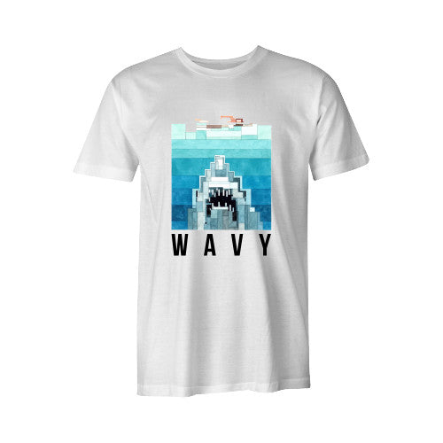 JAWS TEE WHT YOUTH