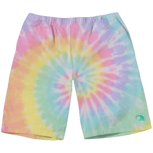 Tie dye weekend shorts - SHOP WAVY