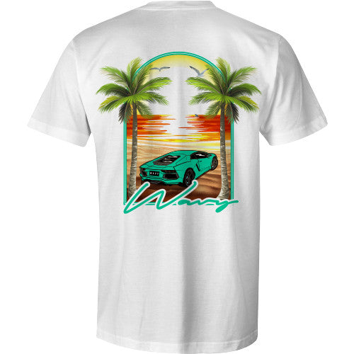 WAVY LOCAL TEE WHT - SHOP WAVY