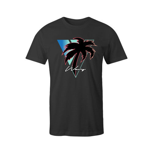 WINDY TEE BLK YOUTH - SHOP WAVY
