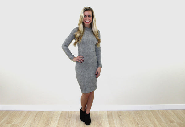 The sofia sweater dress