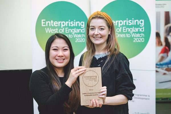 EcoStardust Founder Kath Senior Has Been Named One to Watch for 2020 as a Leader of Environmentally Sustainable Business by Enterprising West of England