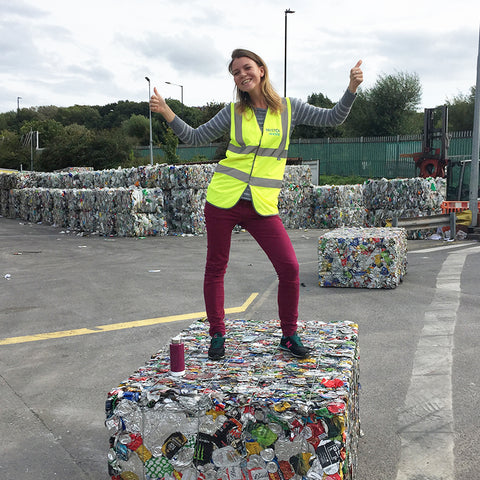 EcoStardust at the Recycling Centre