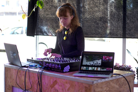 DJ Anna Scott at EcoStardust Party