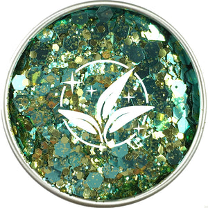 EcoStardust Turquoise Treasure Biodegradable Glitter