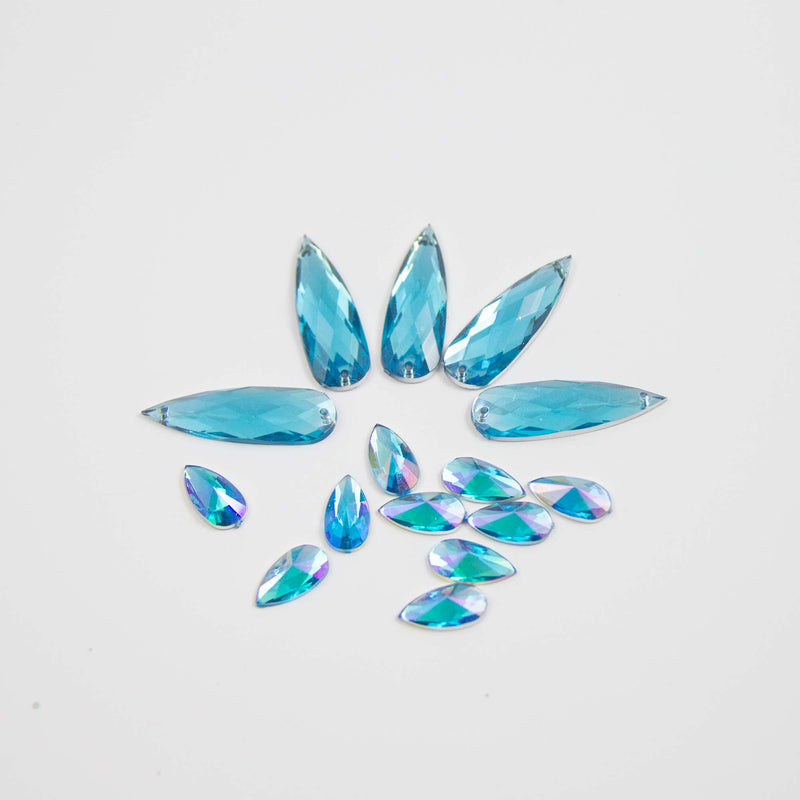 EcoStardust Reusable Gems - Blue
