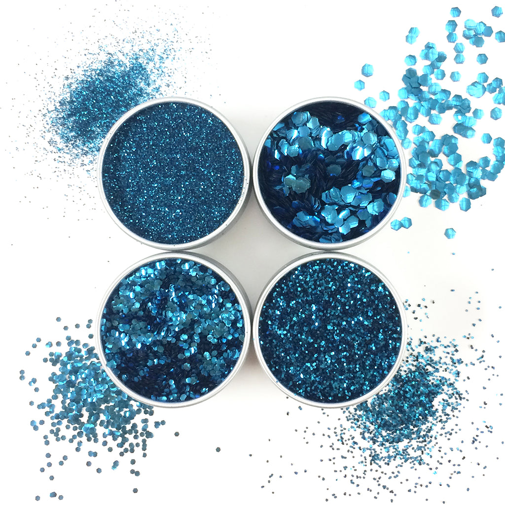 EcoStardust Blue Lagoon Biodegradable Glitter - All Sizes - EcoStardust