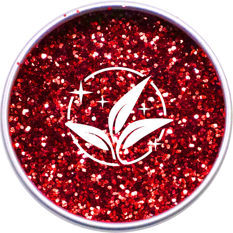 EcoStardust Chunky Blood Red Biodegradable Glitter - EcoStardust