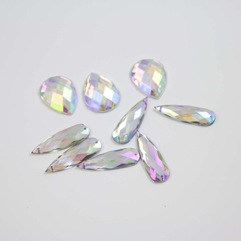 EcoStardust Reusable Gems - Clear