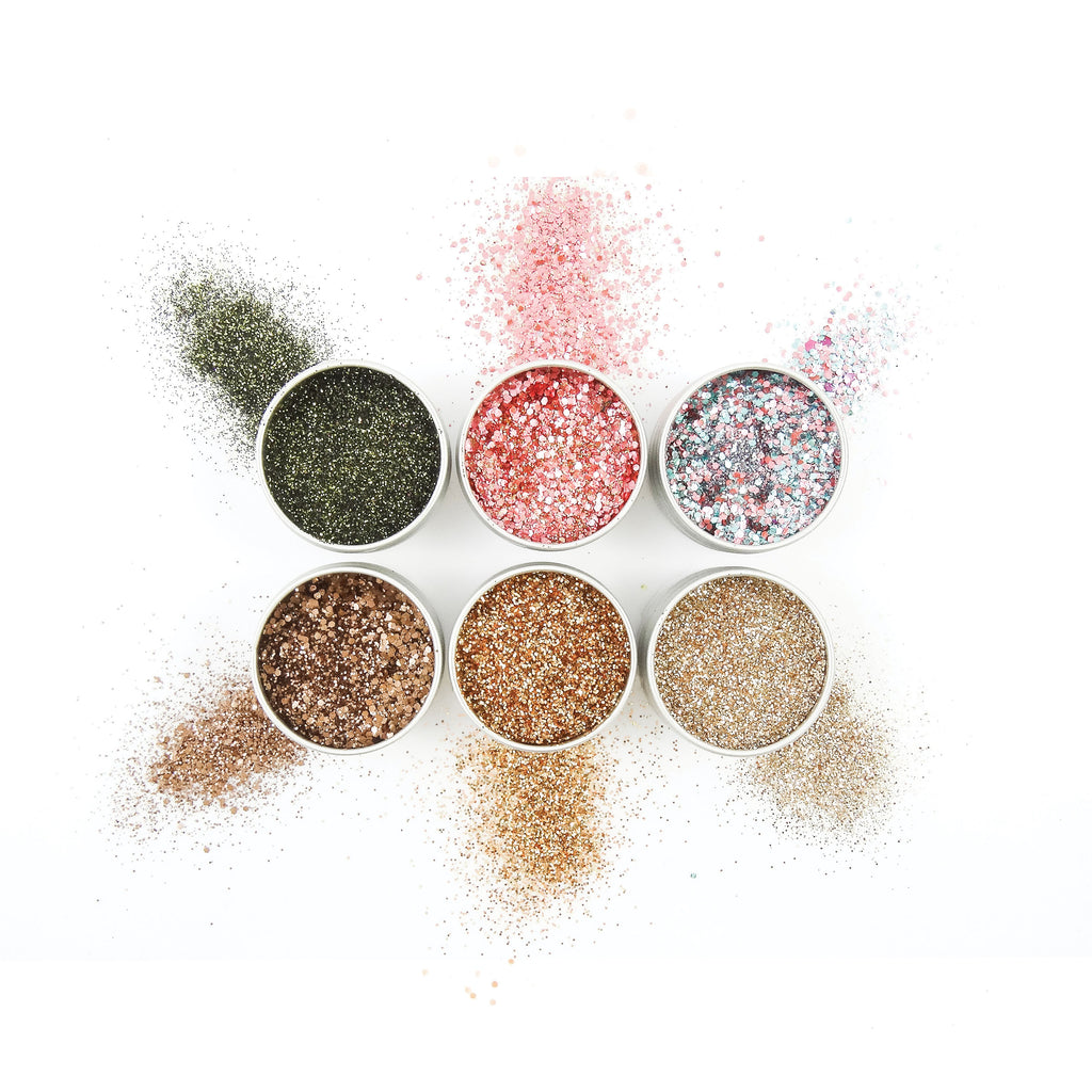 EcoStardust Desk To Disco Biodegradable Glitter Bundle - x6 Tins!