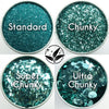 EcoStardust Turquoise Biodegradable Glitter - All Sizes - EcoStardust
