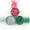 EcoStardust Glam Gore Biodegradable Trio-Glitter, Balm, Brush Set - EcoStardust