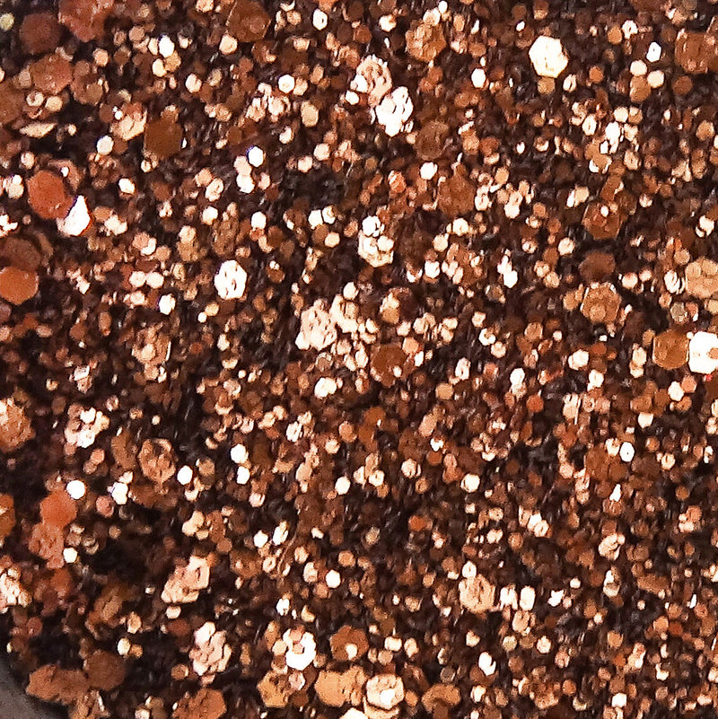 EcoStardust Hot Chocolate Biodegradable Glitter Shine Range
