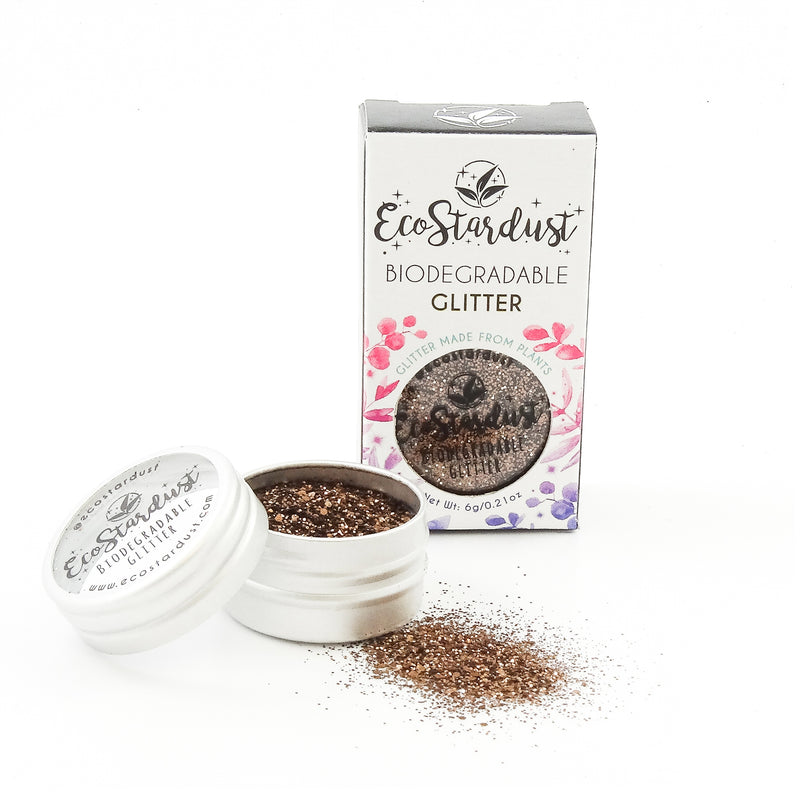 EcoStardust Hot Chocolate Biodegradable Glitter - EcoStardust