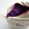 EcoStardust Glitter & Make-up Bag (Fair Trade Canvas/Cotton and Ethically Produced) - EcoStardust