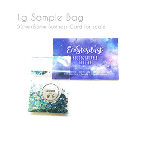 EcoStardust Mermaid Biodegradable Glitter - EcoStardust