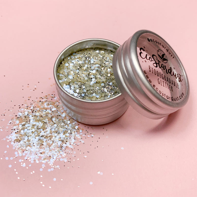 EcoStardust Mirror Ball Biodegradable Glitter Opal SHINE - EcoStardust
