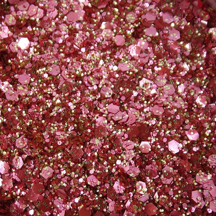 EcoStardust Rose Gold Biodegradable Glitter Shine Range