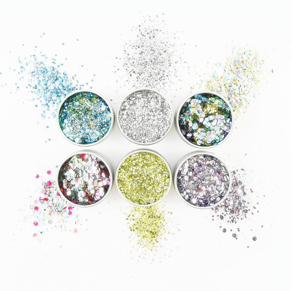 EcoStardust Shimmer Till Sunrise Biodegradable Glitter Bundle - x6 Tins!