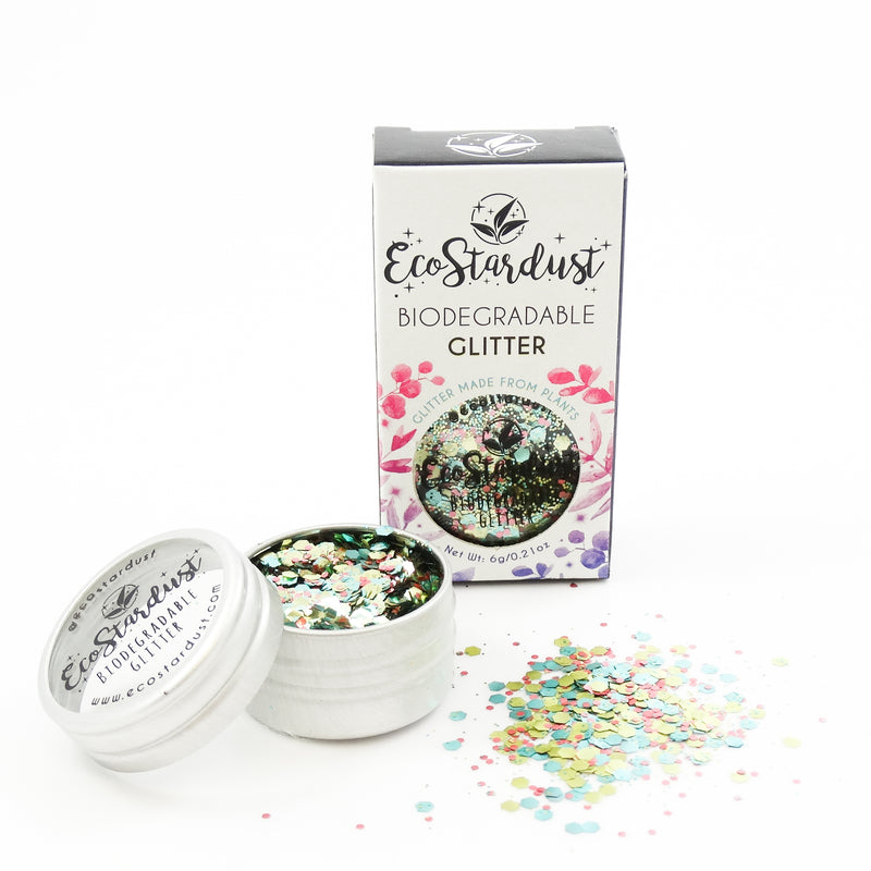 EcoStardust Sun, Sea & Sparkle Biodegradable Glitter Shine range