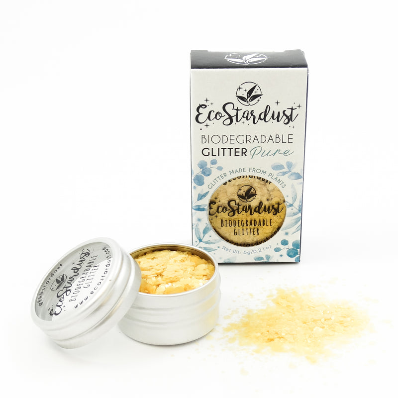 EcoStardust Sunshine Biodegradable Glitter PURE