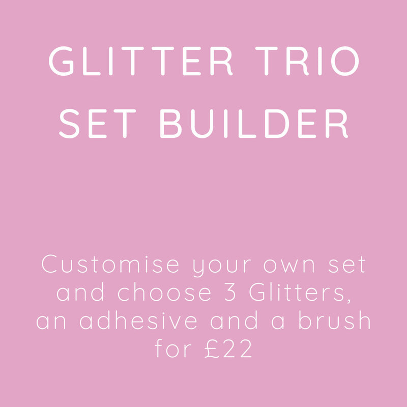 SHINE Glitter Trio Set Builder