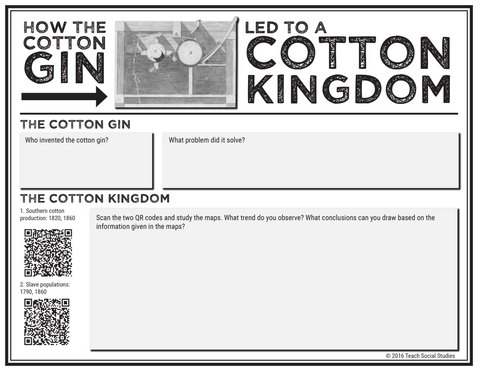 The Cotton Gin and the Cotton Kingdom