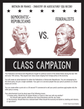 Federalists vs Democratic-Republicans Class Campaign