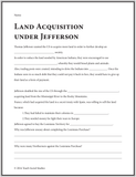 Land Acquisition under Jefferson Notes