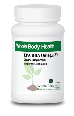 EPA DHA Omega 3's (Fish Oil)