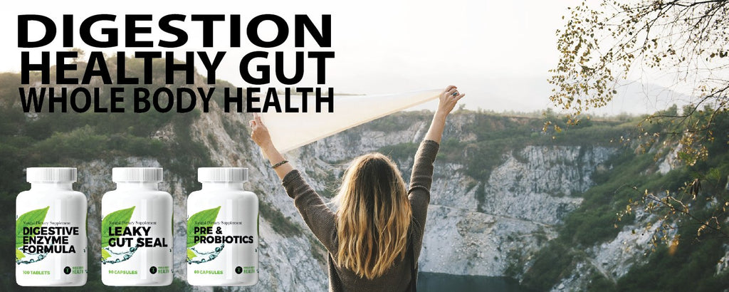 Digestion and Gut Health Support with Whole Body Health Supplements !