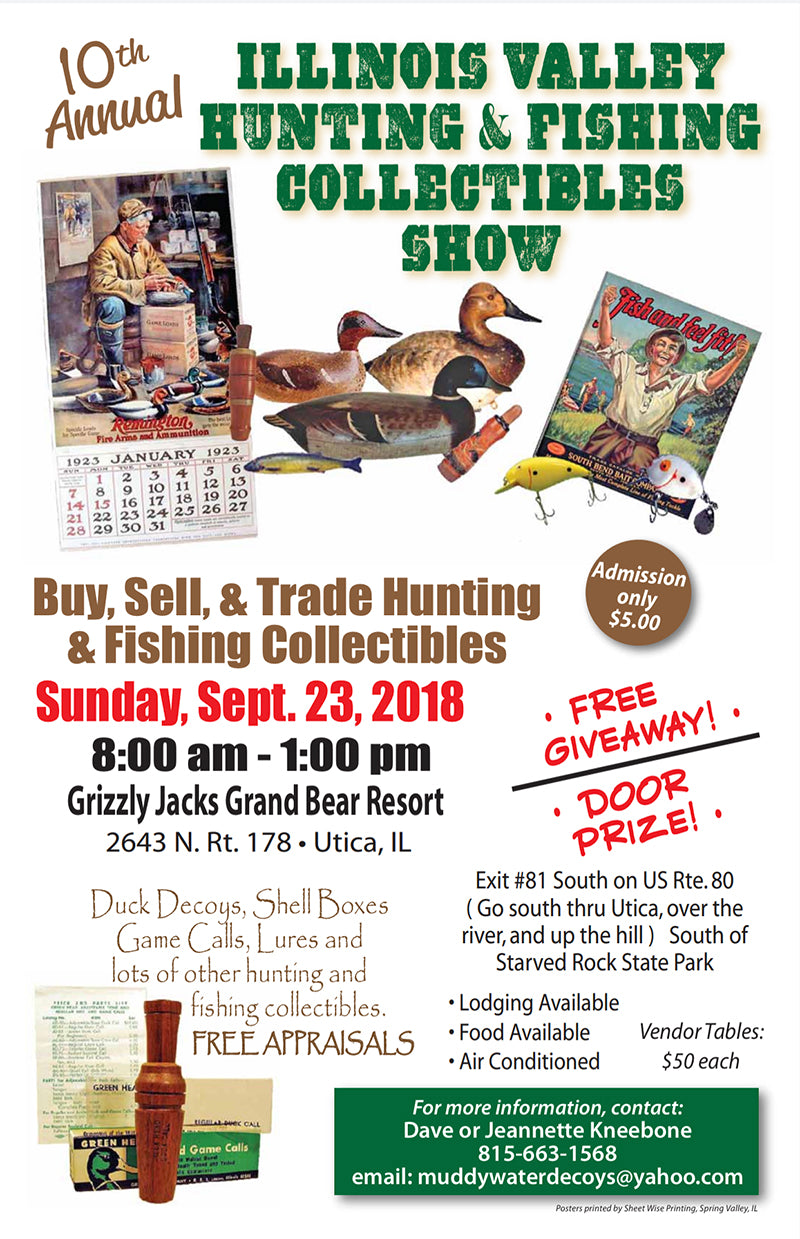 Illinois Valley Hunting and Fishing Collectibles Show