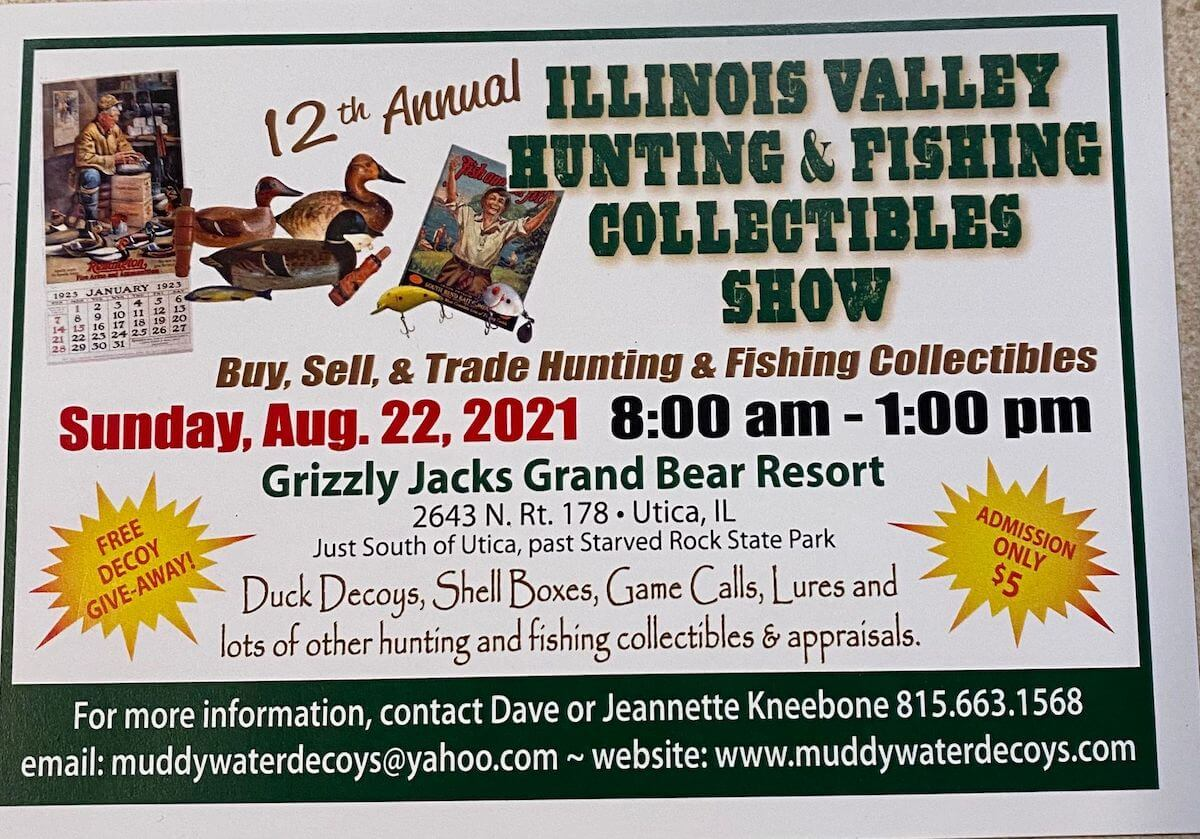 hunting and fishing show in utica illinois