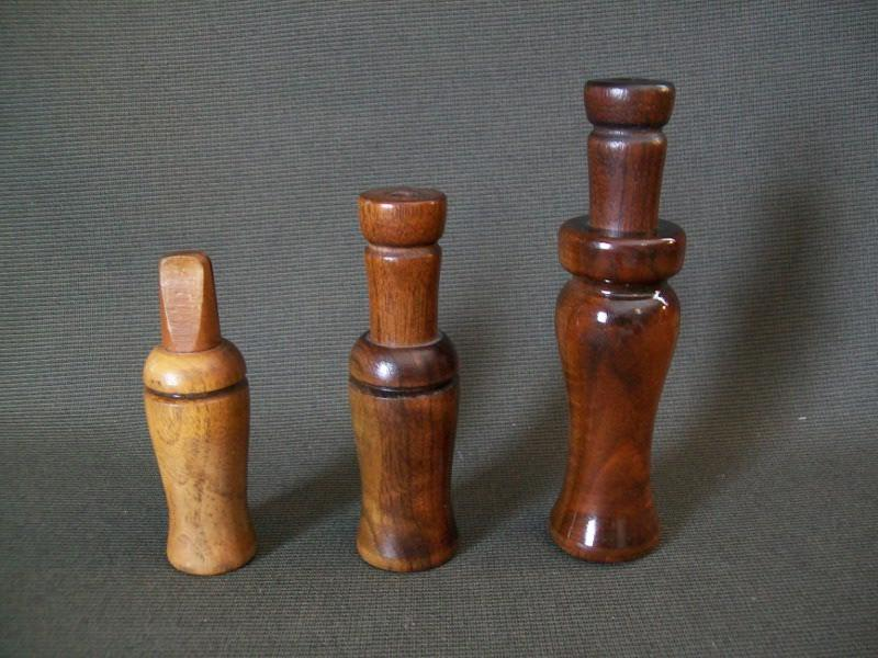 Group of 3 Lohman Calls  Crow Call, Duck Call, and Goose Call