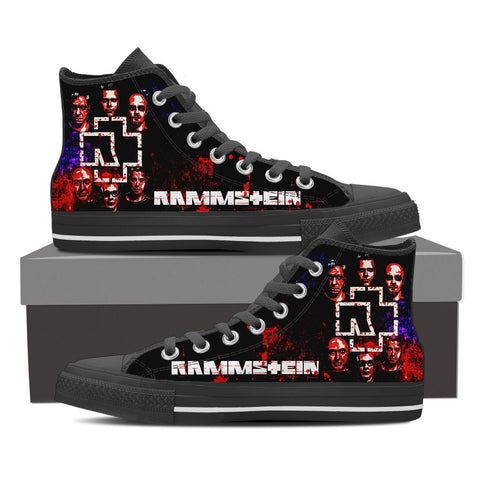 Rammstein High Top Canvas Shoe