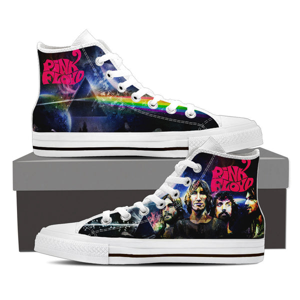 Pink Floyd High Top Canvas Shoe