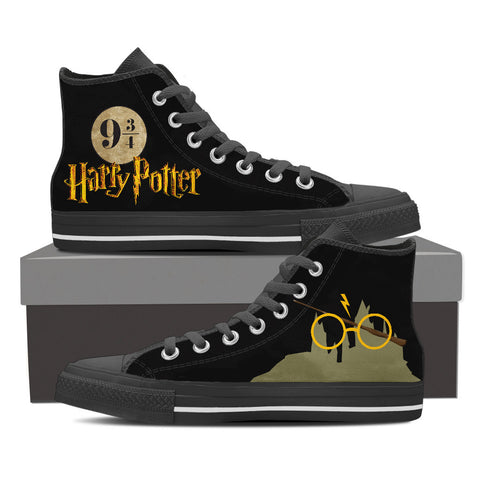 Harry Potter High Top Canvas Shoe