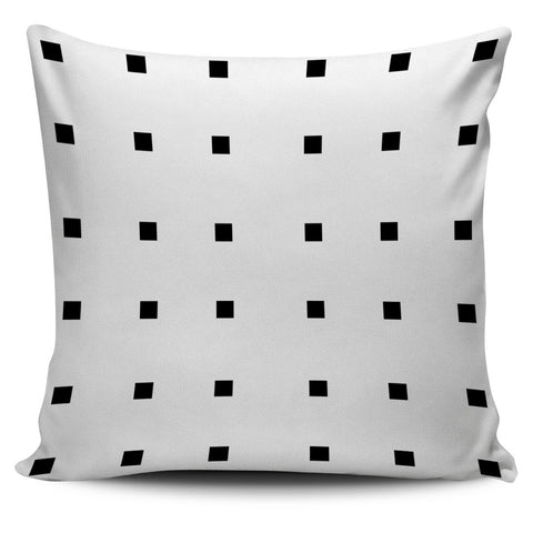 Black Squares Pillow
