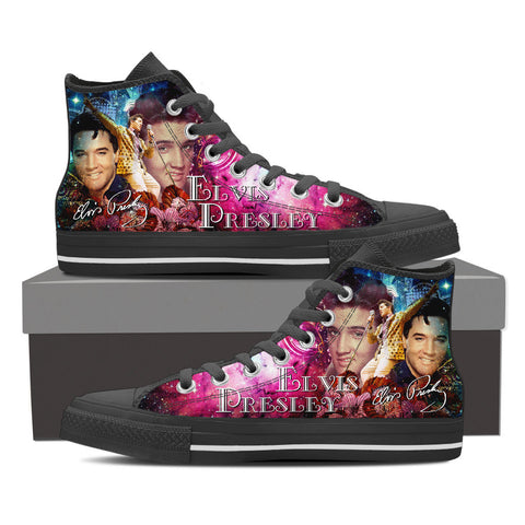 Elvis High Top Canvas Shoe
